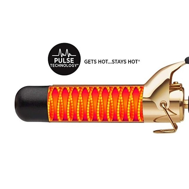 """Hot Tools 1 1/2"""" Professional 24K Gold Curling Iron/Wand"""