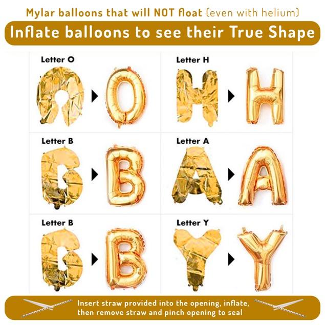 32 Piece Gender Neutral Baby Shower Kit