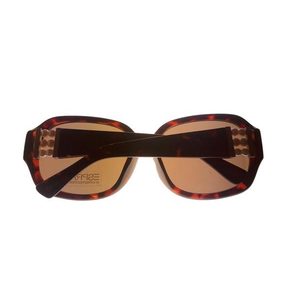 Esprit Womens Sunglass Tortoise  Pearl Rectangle Plastic,  ET19312 532