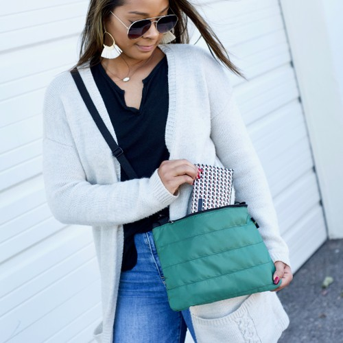 All Purpose Puffy Shoulder Bag- 5 Colors