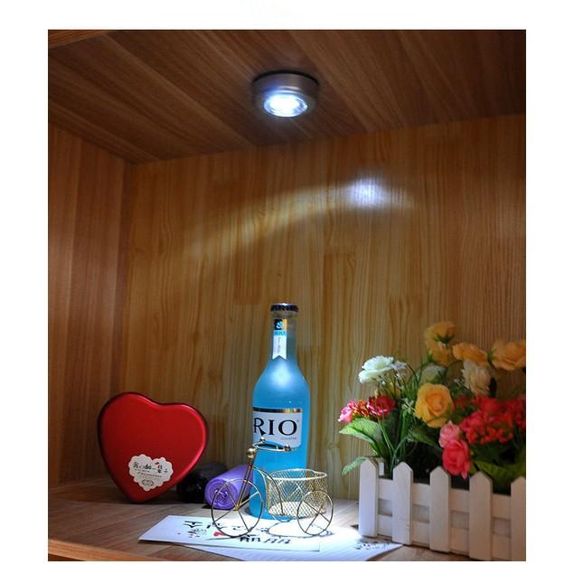 10Pcs Led Night Light Pat Light Touch Light Emergency Light Creative Paste Lamp Bedroom Bedside Small Lamp Paste Wall Lamp
