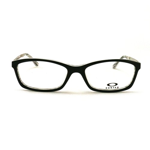 Oakley Ponder Women's Eyeglasses OX1089-01 Jet Black 53 16 140 Demo Lens