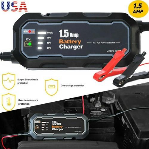 1500mAh Car Jump Starter Booster Jumper Box Power Bank Battery Charger