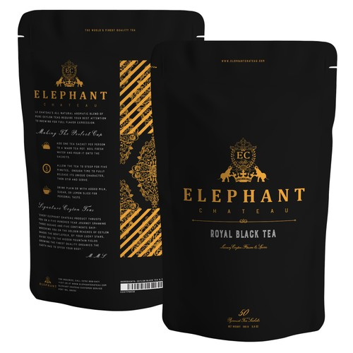 Golden Tip White Tea (Extra Special Ceylon) | 50 Cups | Gold Fresh Leafy