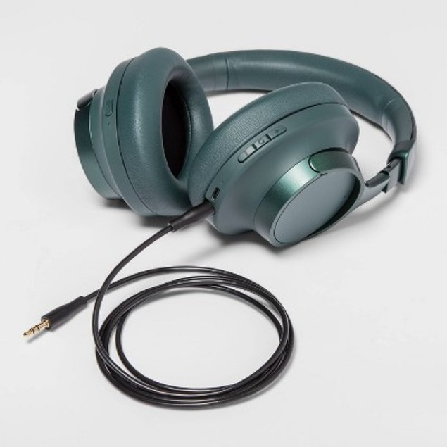 Heyday Active Noise Cancelling Over-Ear Headphones Green