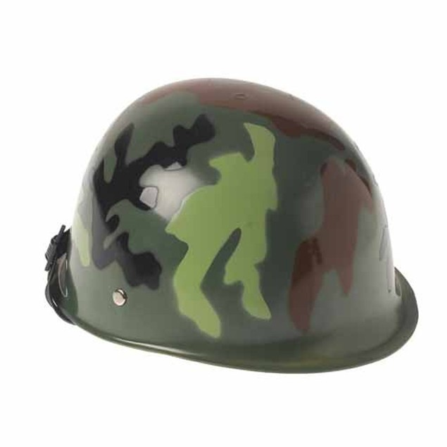 Camo Helmet Army Camouflage War Child Military Costume Accessory Kids Hat