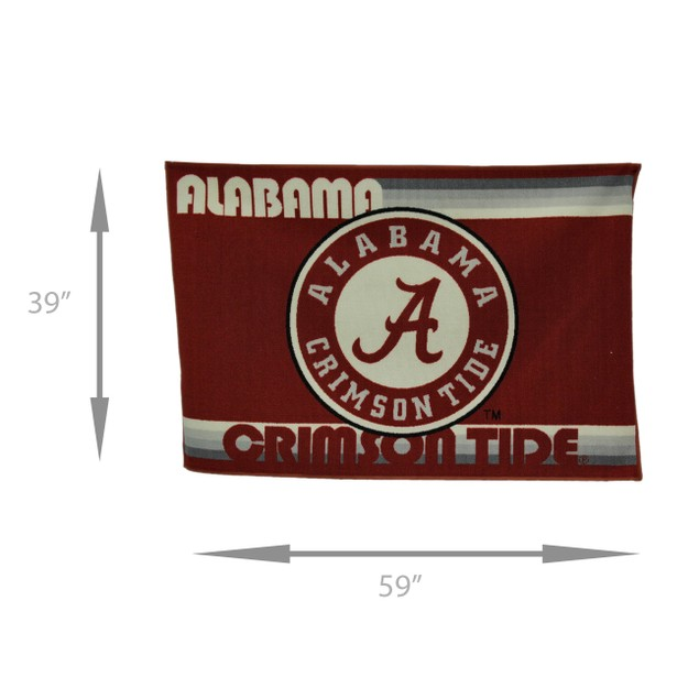 University Of Alabama Crimson Tide 39 By 59 Inch Area Rugs
