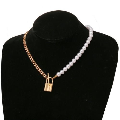 Creative Retro Artificial Pearl Chain Clavicle Chain