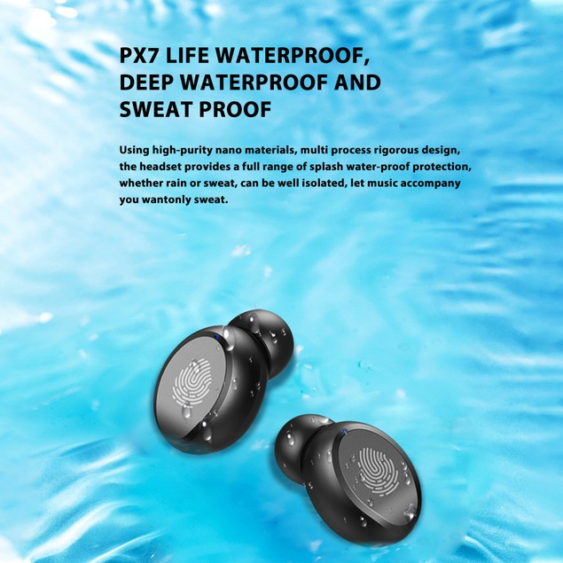 Bluetooth Earbuds for All Phones Wireless Earphone Waterproof