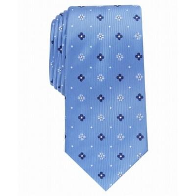 Club Room Men's Classic Neat Tie Navy Size Regular