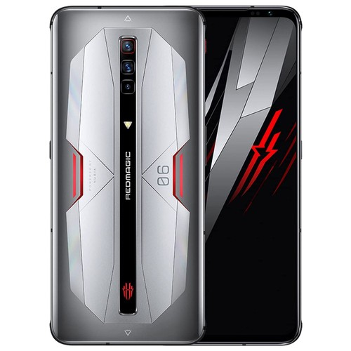 Nubia Red Magic 6 Pro 5G 256GB/16GB RAM GSM Factory Unlocked Smartphone - Moon Silver