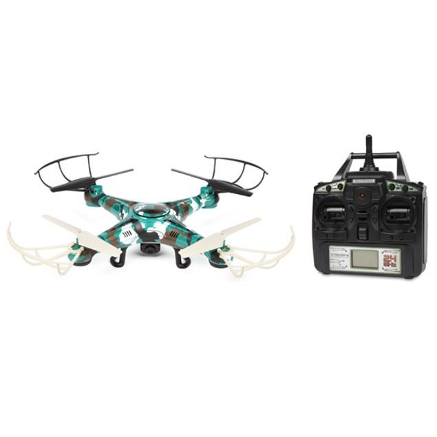 Striker-X Camo 2.4GHz 4.5CH RC HD Camera Drone
