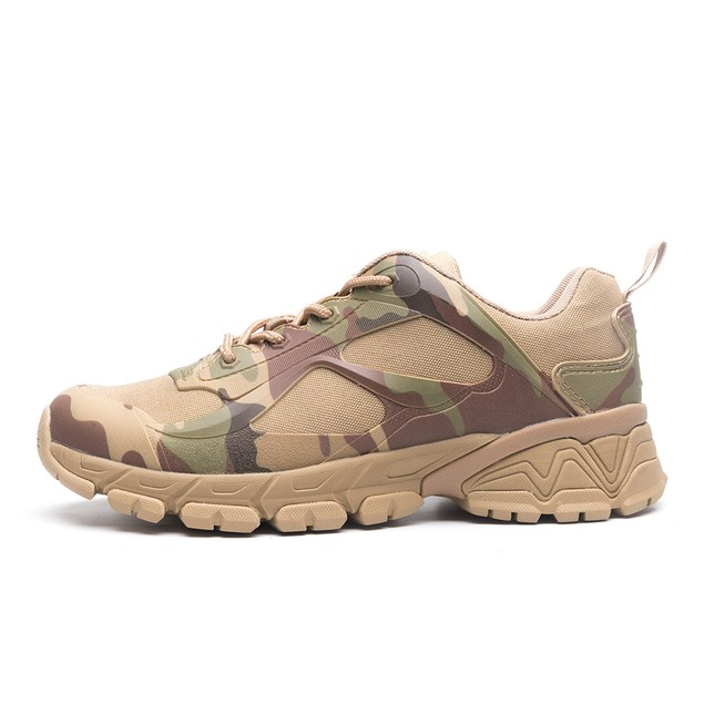 Men's Military Tactical Ankle Shoes Combat Hiking Boots Sneakers Camouflage