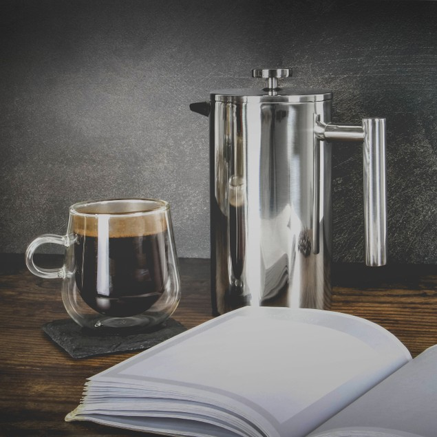 French Press Cafetiere Set | MandW 1500ml