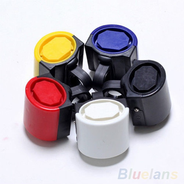 360Rotating Electronic Loud Alarm Ring Bicycle Bell