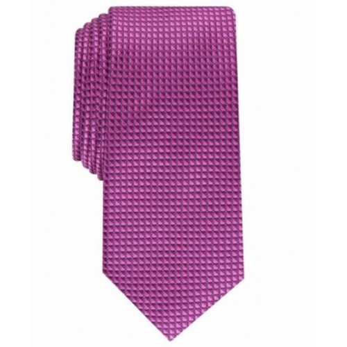 Alfani Men's Slim Neat Tie Pink Size Regular