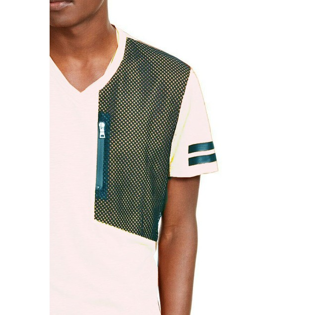 INC International Concepts Men's End Note T-Shirt White Size Large