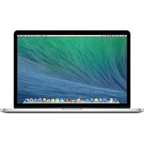 "Apple MacBook Pro ME293LL/A 15.4"" 256GB macOS,Silver(Refurbished)"