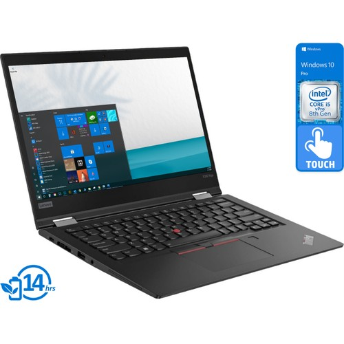 "Lenovo ThinkPad X390, 13"" Touch, i5-8365U, 8GB RAM, 256GB SSD, Win10P"