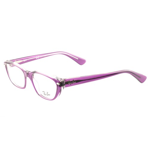 Ray Ban Eyeglasses RB 5242-5254 Clear Purple Acetate 51 18 140