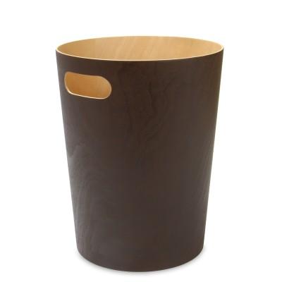 Wooden Waste Paper Bin | MandW Brown