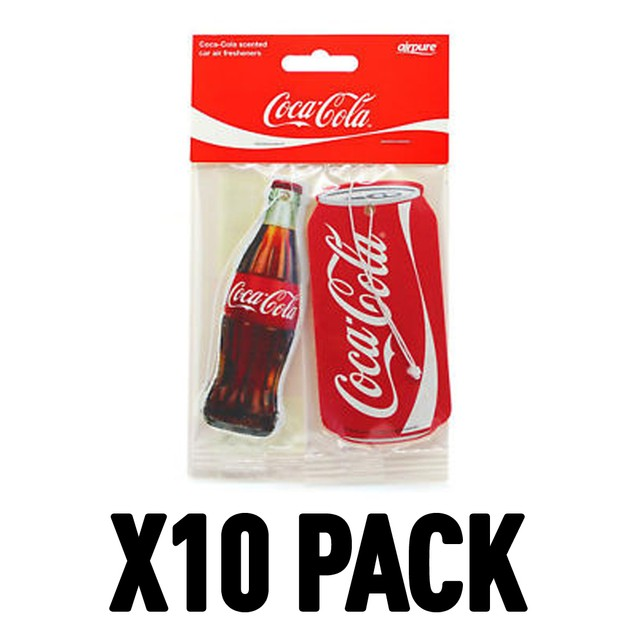 Coca-Cola Original (Pack Of 10) Air Freshener