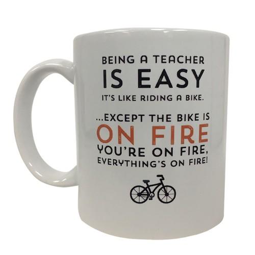 Being A Teacher is Easy 11 oz Coffee Mug