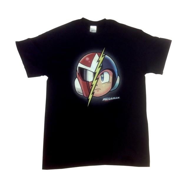 Mega Man Proto Man T-Shirt Nintendo Capcom Megaman Break Man