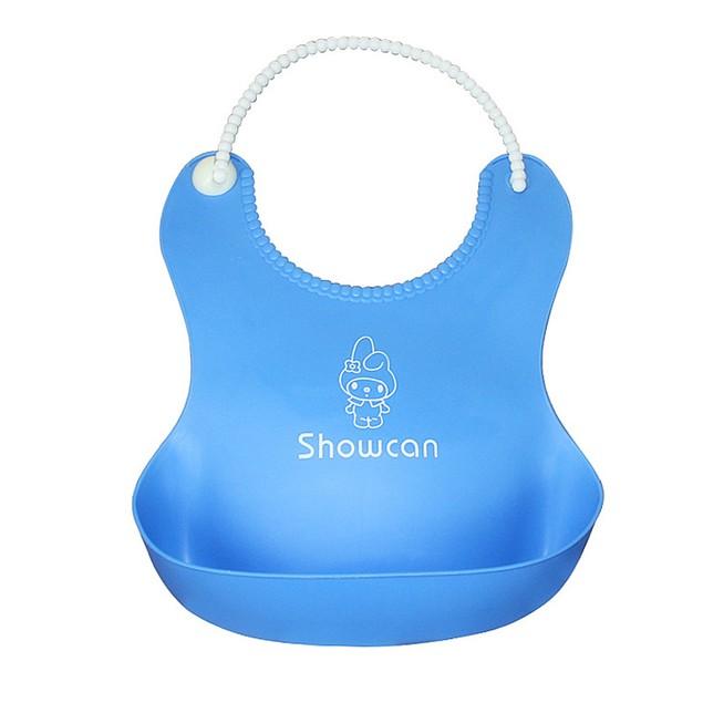 Baby Infants Kids Cute Silicone Bibs Baby Lunch Bibs Cute Waterproof