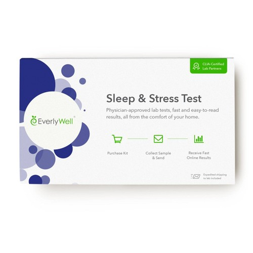 EverlyWell Helping Lifestyle Improvements CLIA Certified Sleep & Stress