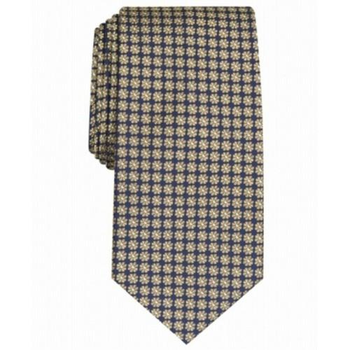 Club Room Men's Tulip Neat Tie Yellow One Size