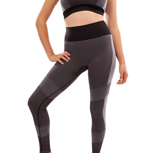 High Waisted Yoga Leggings - Black
