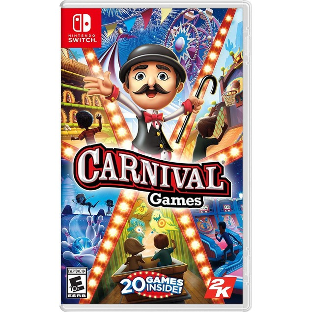 Carnival Games Nintendo Switch Game (#)
