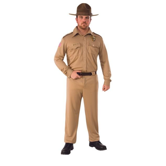 Adult Jim Hopper Stranger Things Costume