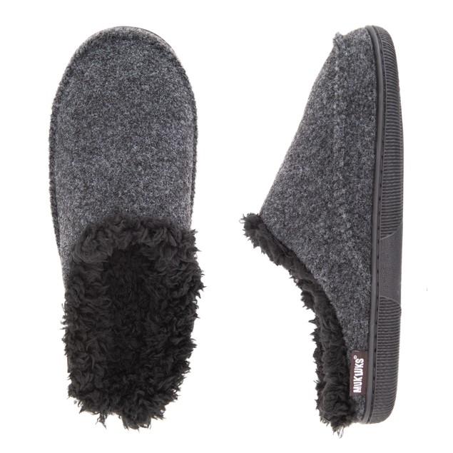 MUK LUKS ® Men's Faux Wool Clog Slippers