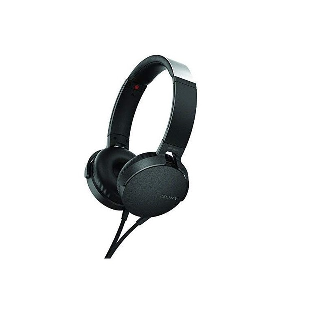 Sony XB550AP Extra Bass On-Ear Wired Headset - Black