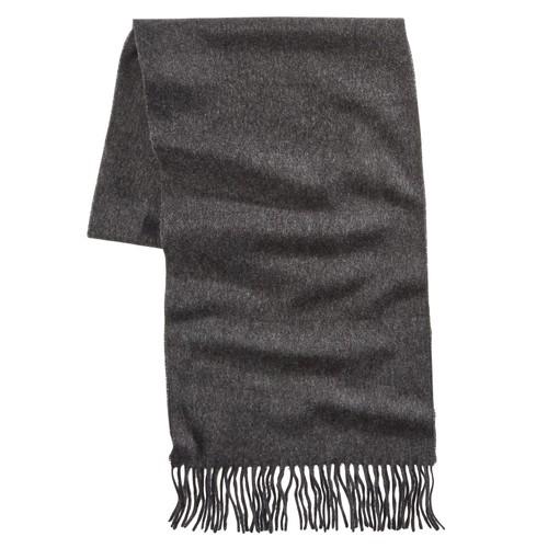 V. Fraas Solid Scarf Black Size Regular