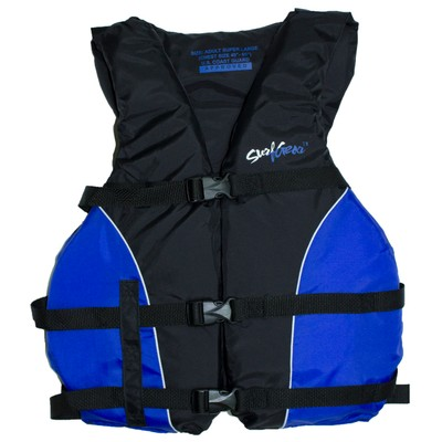 Surf Gear US Coast Guard Approved Lightweight Adult Life Vest, Blue
