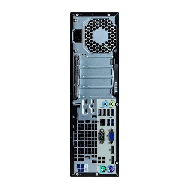 "HP 800G2 Desktop Intel i5 8GB 500GB SSD Windows 10 Home 24"" Monitor"