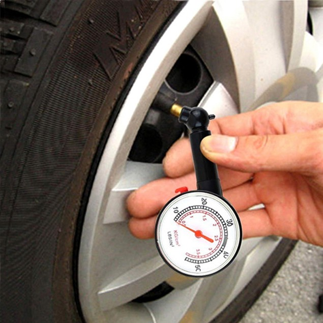 Car Vehicle Tire Gauge Meter Pressure Measure Tool
