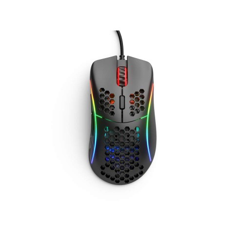 Glorious PC Gaming Race Model D USB RGB Optical Gaming Mouse - Matte Black