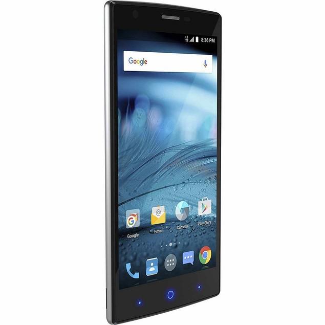 ZTE Zmax 2, AT&T, Black, 16 GB, 5.5 in Screen