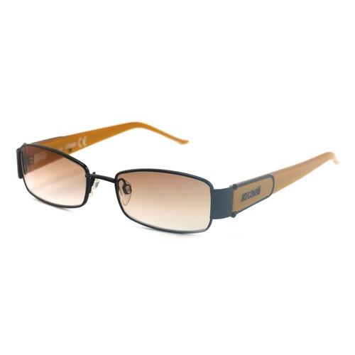 Just Cavalli Women's Sunglasses JC0179 0B5 Black/Yellow 50 17 135 Full-Rim Oval