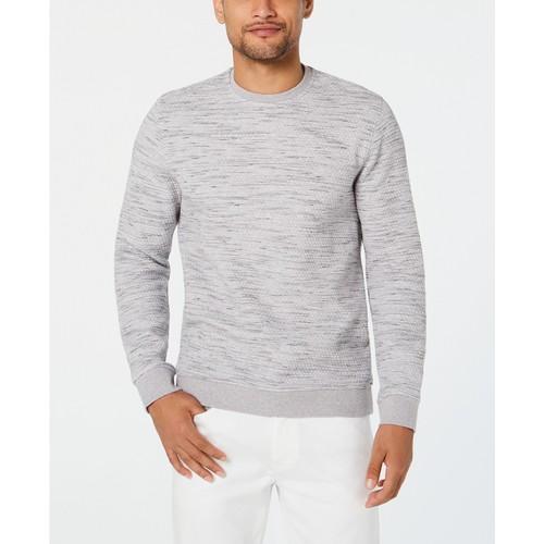 Alfani Men's Heathered Sweatshirt Gray Size 2 Extra Large