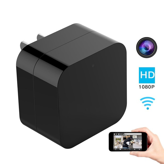 iPM WI-FI USB Wall Charger Hidden Camera - With Night Vision