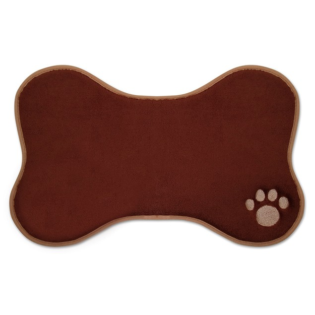 """13"""" x 19"""" Comfy Pooch Embroidered Pet Placemat"""