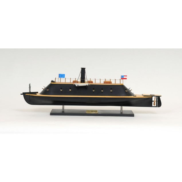 Old Modern Handicrafts Css Virginia Warship Model