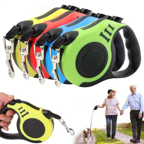 Durable Automatic Retractable Nylon Extendable Dog Leash