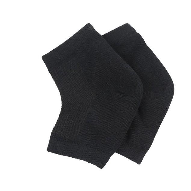5 Pairs Of Mesh Gel Anti-drying Heel Socks Heel Cover Moisturizing Unisex Breathable And Sweat-absorbing
