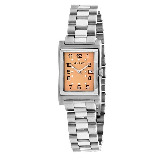Nina Ricci Women's Classic Rose gold Dial Watch - 22360